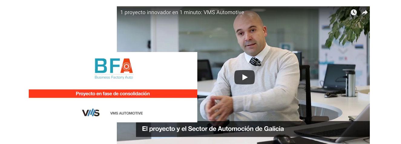 1 proyecto innovador en 1 minuto: VMS Automotive