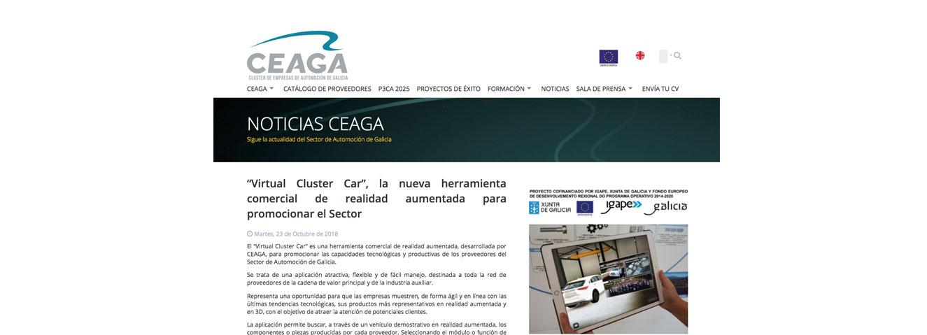 """Asistimos a la presentación de """"Virtual Cluster Car"""","""