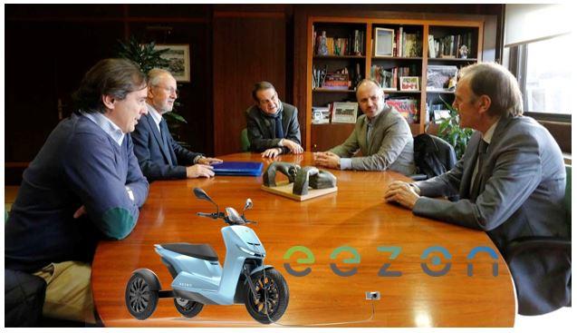 Presentación de EEZON al Alcalde de Vigo